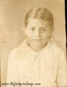 My grandmother as a child.