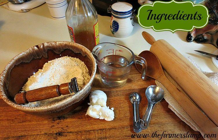 Ingredients for Tortillas