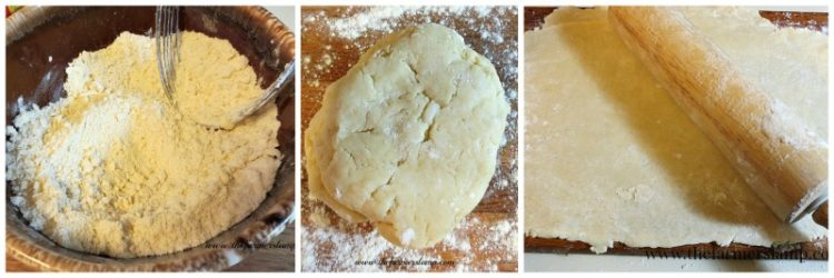 Pie Crust Mix Collage