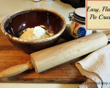Easy Flaky Pie Crust