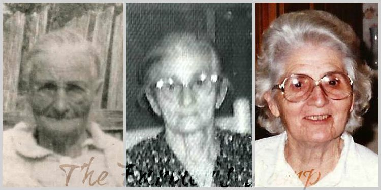 Three Generations ~ my Great-Great-Grandmother, my Great-Grandmother and my Grandmother