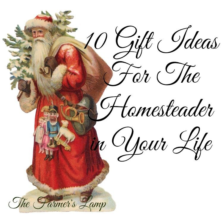 gift ideas for the homesteader in your life