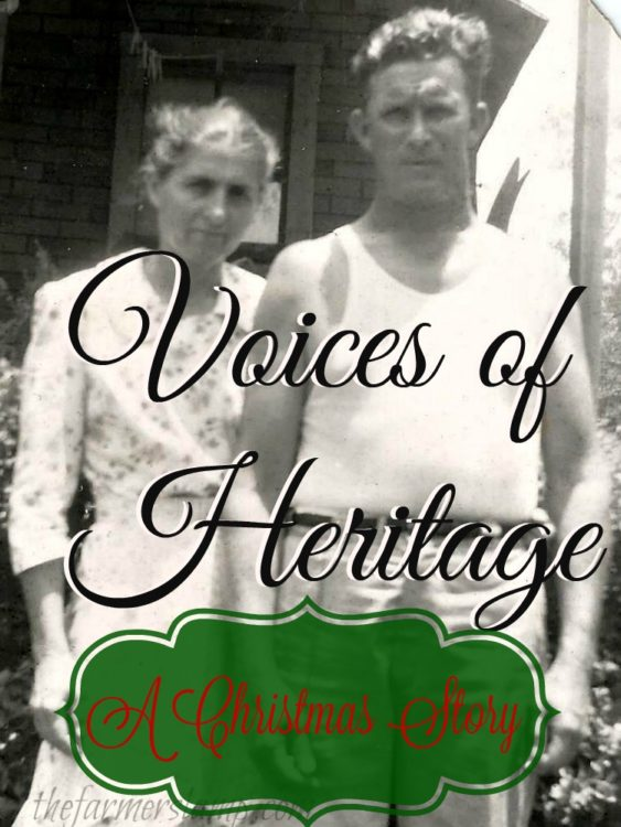 Voices of Heritage A Christmas Story