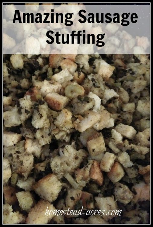 stuffing or dressing