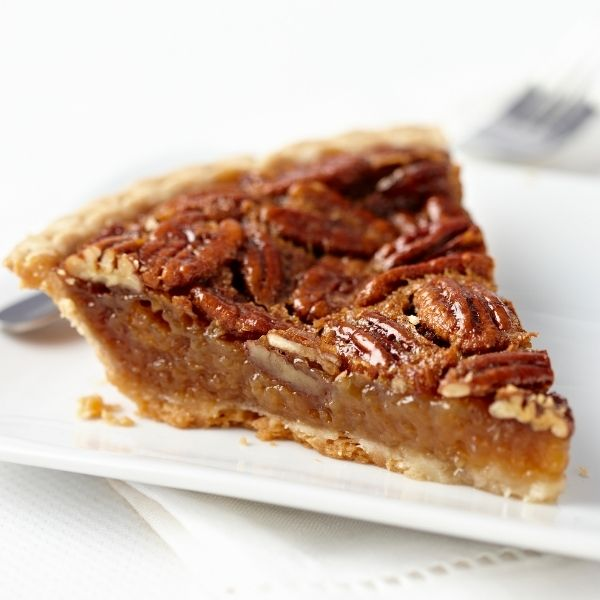 Slice of Old-Fashioned Southern Pecan Pie Recipe